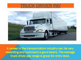 100 Truck Driver Average Salary Calamo Pay