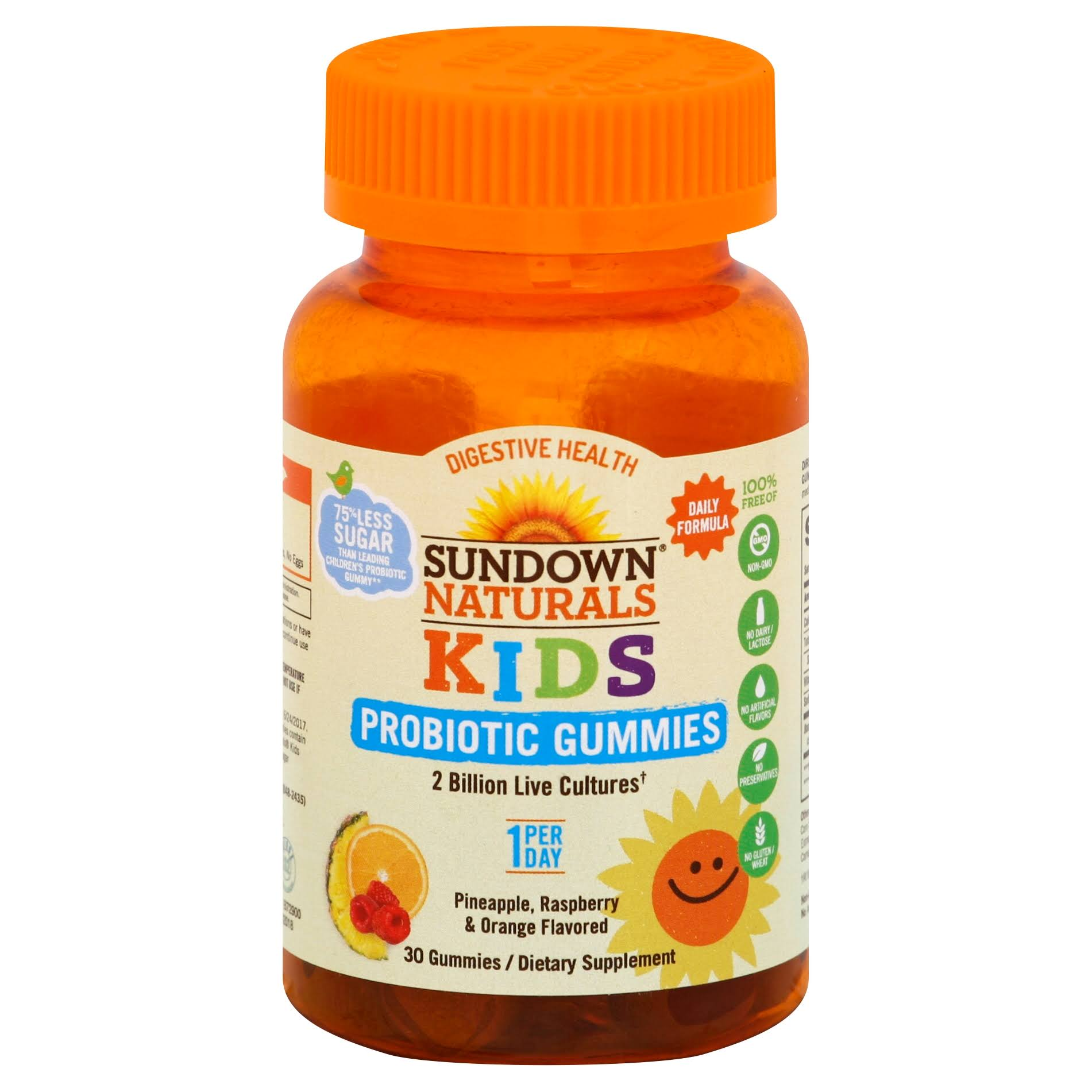 Sundown Naturals Kids Probiotic, Gummies - 30 gummies