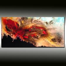 paintings for sale original textured abstract painting black