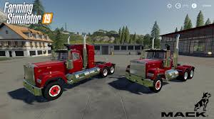 100 Pickup Truck Sleeper Cab Mack Daycab And Mack V1005 LS2019 FS 2017