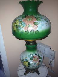 Antique Hurricane Lamp Globes by Hurricane Lamp Electric Antique Victorian Style Painted Glass