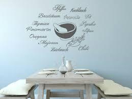 details zu wandtattoo küche wandsticker sprüche gewürze nr 2 wandaufkleber worte esszimmer