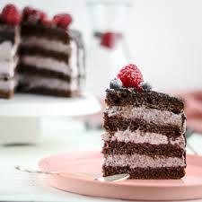 schoko brombeer törtchen hochzeits cake im mini