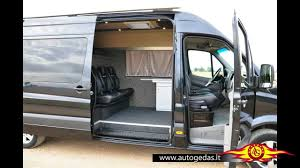 Black Mercedes Benz Sprinter Van Conversion