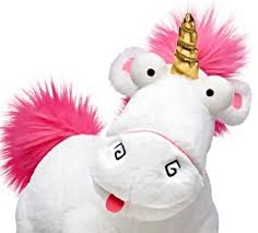 Stuffed Plush Toy Build A Bear Fluffy The Unicorn Despicable Me 3 Minions 14in
