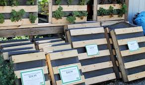 Pallet Planters Mcdonald Garden Center