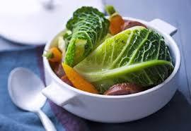 potée légère au chou carottes et saucisse de morteau recette