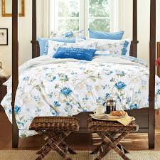Western Country Style Flowered Bedding Set Queen King Size Bright