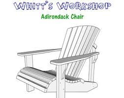 Adirondack Rocking Chair Woodworking Plans by Folding Adirondack Chair Plans
