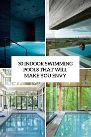 30 Indoor Swimming Pools That Will Make You Envy Cover