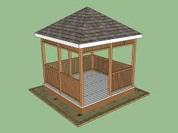 10x12 Shed Material List by 10 Free Gazebo Plans You Can Download Today