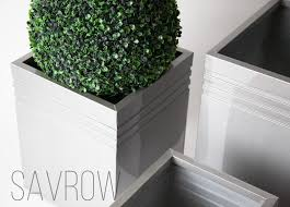 Metal Planters for Indoor and Outdoor use