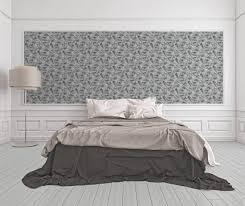 a s création tapete floral grau schwarz weiß 377821