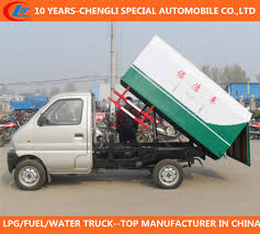 China Smart Garbage Truck Mini Rubbish Truck 4X2 Garbage Truck ...