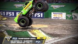 Monster Jam In San Antonio - Sunday, January 29th On FS1 - YouTube Monster Jam San Antonio 2017 Hlights Show 2 Youtube Photos Texas El Toro Loco Freestyle Monster Jam 2016 Tx 2014 Winner 12416 Grave Digger 100 Truck Tickets 2015 Tx1 Zombie Hunter Tx 11015 Marks 20th Anniversary In Alamodome Trucks Reveals At World Finals