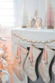 Pink Christmas Tree Flocking Spray by 926 Best Shabby Chic Christmas Images On Pinterest Shabby Chic