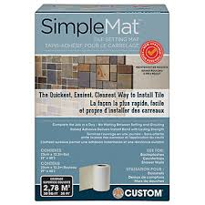 Wet Tile Saw Home Depot Canada by Custom Building Products Simplemat Tile Setting Mat Contractor