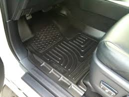Husky Liner Weatherbeater Floor Mats by 2011 Floor Liners New Discussion Husky Vs Weathertech Page 12