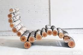 21 Birch Wood Recliner