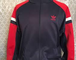 Vintage Adidas Originals Trefoil 1980s Track Jacket Jackets And Coats 80s