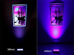high powered uv led spot light 27w specialty high power led
