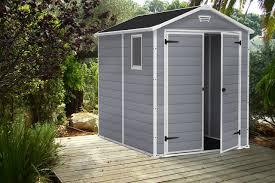 6x8 outdoor garden storage shed keter