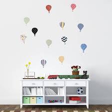 Childrens Hot Air Balloon Wall Stickers