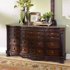 North Shore Dresser Could Be Used As Side Table In Dining Room Minus The Mirror Millennium By Ashley Furniture