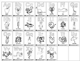 Pictures Coloring Abc Pages Free On Printable Alphabet With