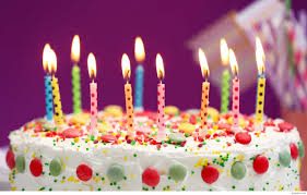 Happy Birthday Cake And Candles Bday Full Hd Pics For