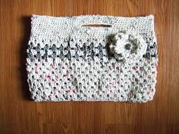 These Totes Are Made From Plastic Bag Yarn A