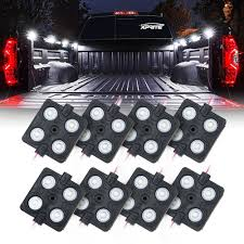 100 Truck Bed Lighting System Amazoncom Xprite New Version LED Rock Lights Rail Light