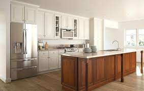 Off White Kitchen Cabinets Antique Modern With Black Countertops