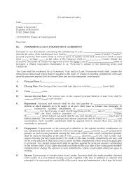 Letter Mortgage mitment Letter Template – Cover Letter Example
