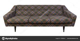 100 Modern Couches Plaid Couches Couch Sofa Plaid Fabric Isolated On