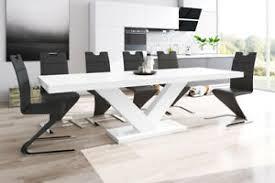 details zu esstisch design tisch zamora modern mega esszimmertisch holz designertisch