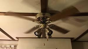 hunter low profile ceiling fan with spot light kit oak blades