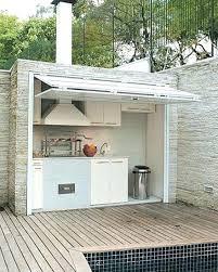 cuisine ete bois construire cuisine d ete cuisine ete bois cuisine extacrieure