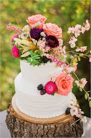 Picture Perfect Floral Wedding Cakes