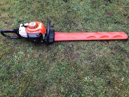 2013 stihl hs 81r hedge cutter bush garden 2 stroke petrol in