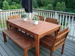 how to make patio furniture with pallets u2013 smashingplates us