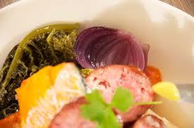 potee de chou vert potée de chou au haddock la pièce embuée