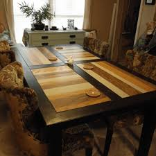 A Wooden Dining Room Table