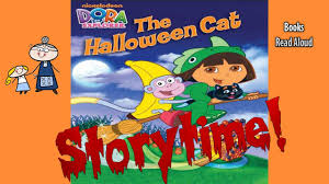 Halloween Picture Books by Dora The Explorer The Halloween Cat Storytime Bedtime Story
