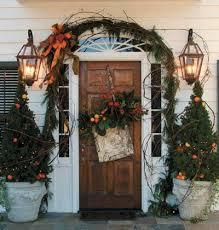Outdoor Christmas Decorating Ideas Front Porch by 229 Best Christmas Porches Images On Pinterest La La La