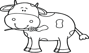 Cow Head Coloring Page Chinese New Year Dragon Pages