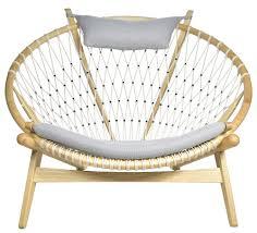 Flag Halyard Chair Replica by Living Hans Wegner Matt Blatt