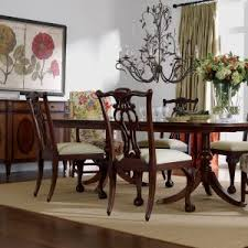 Ethan Allen Dining Room Set Chairs Table 8 Sets 5 Mahogany And With