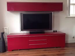 Ikea Besta Burs Desk Black by Ikea Besta Burs Red High Gloss Tv Media Unit And Storage Cupboard