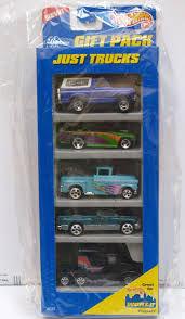 HOT WHEELS 1996 GIFT PACK JUST TRUCKS BRONCO CHEVY DODGE KENWORTH 5 ...